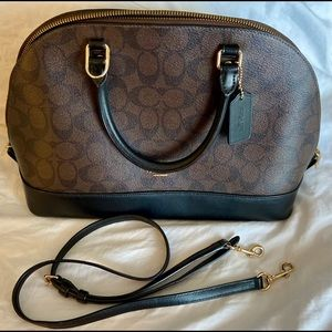 Coach Sierra Signature Dome Crossbody Handbag